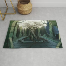 Goddess of Life and Fortune Rug