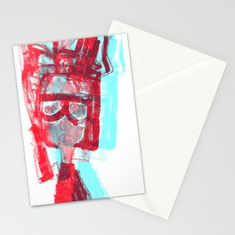 portrait 2 Stationery Cards