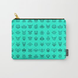 071 70s Robot [cyan] Carry-All Pouch