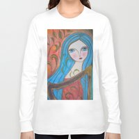 inspiration Long Sleeve T-shirts featuring Inspiration by Dulcamara
