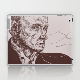 Fred Astaire in Moon Luminance Laptop & iPad Skin