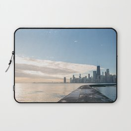 One December in Chicago Laptop Sleeve