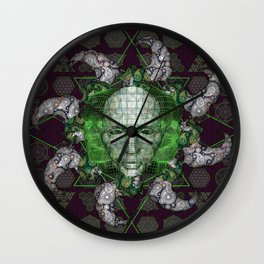 Cybernetic Wall Clock