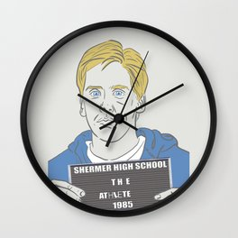 The Athlete Wall Clock