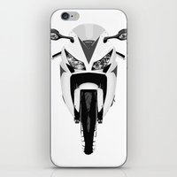 honda iPhone & iPod Skins featuring Honda Motorcycle by SABIRO DESIGN