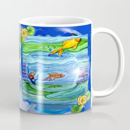 Jumping fish Coffee Mug