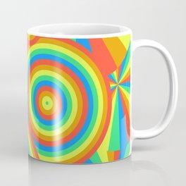 Rainbow emission Coffee Mug