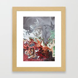Blooded Mint Framed Art Print