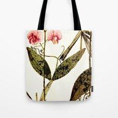 modern sweet peas Tote Bag