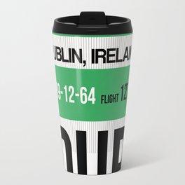 DUB Dublin Luggage Tag 1 Travel Mug