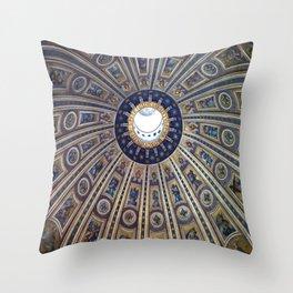 Cupola, Vatican City Throw Pillow