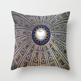 Cupola, Vatican City Throw Pillow
