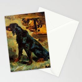 "Henri de Toulouse-Lautrec ""Dun, a Gordon Setter Belonging to Comte Alphonse de Toulouse Lautrec"" Stationery Cards"