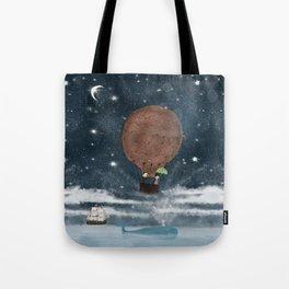the big splash Tote Bag