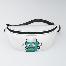 I SUCK AT BREATHING Inhaler Inhale Wheeze Sports Fanny Pack