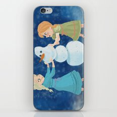 Do You Want To Build A Snowman? iPhone & iPod Skin