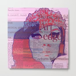 Queen Sugar Metal Print