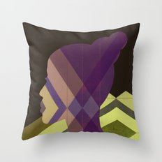 1970s Throw Pillow
