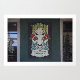 Hana Skate and Surf Art Print