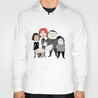tim shumate Hoodies featuring Tim Burton Family Guy by Grace Isabel