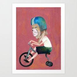 Bunny de la serie Hard Candy Art Print