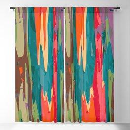 Rainbow Eucalyptus Blackout Curtain
