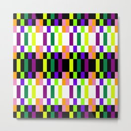 COLORFUL GEOMETRY Metal Print