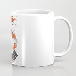 Red Kitsune Coffee Mug