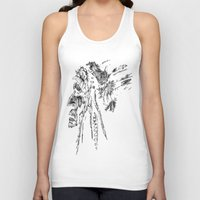 native american Tank Tops featuring Native American by Sandy Elizabeth