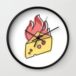 Extreme Cheese Wall Clock