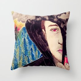 This Is Not What I Had Planned Throw Pillow