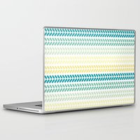 knit Laptop & iPad Skins featuring Knit 1 by K&C Design