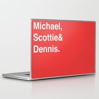 chicago bulls Laptop & iPad Skins featuring Chicago Bulls (classic) by Will Wild