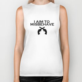 Aim to Misbehave Biker Tank
