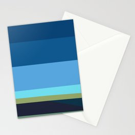 Santa Monica Horizon 0203 Stationery Cards