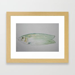 Feeeeesh Framed Art Print