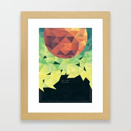 The Catalyst Framed Art Print