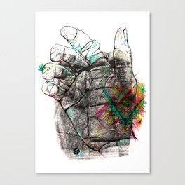 Sheeps Tor Canvas Print