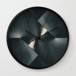 Rusty Old Blades Wall Clock