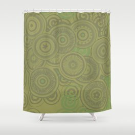 Forties Flair Shower Curtain