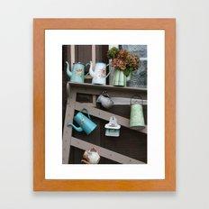 Enamelware Framed Art Print