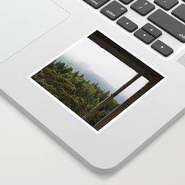 The Forest View Sticker