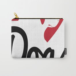 I Love Dogs... Carry-All Pouch