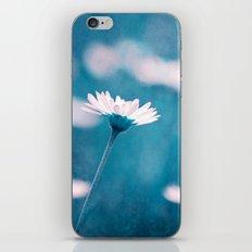love in blue iPhone Skin