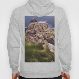 View From The Minack Theatre, Porthcurno, Cornwall, England, United Kingdom Hoody