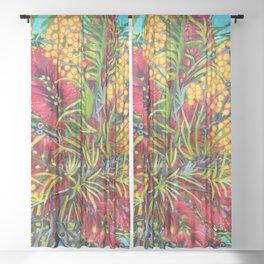 Australiana Sheer Curtain
