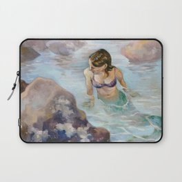 The Lonely Tidal Pool Laptop Sleeve