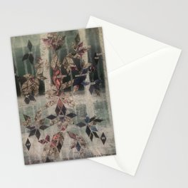 Like strung lights in the Woods Stationery Cards