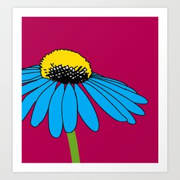 The ordinary Coneflower Art Print