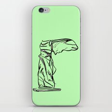 winged victory iPhone & iPod Skin